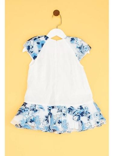 Lia Lea Lia Lea Kız Bebek Beyaz Elbise 19SSLLB0171 Beyaz